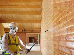 Выполняем работы по огнезащитной обработке конструкций и сооружений
